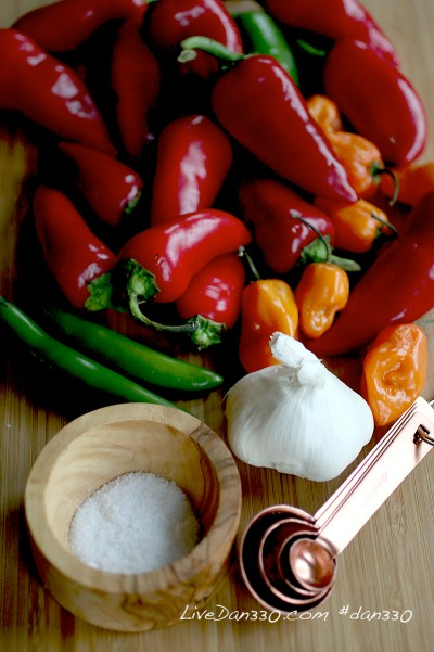 hot sauce ingredients
