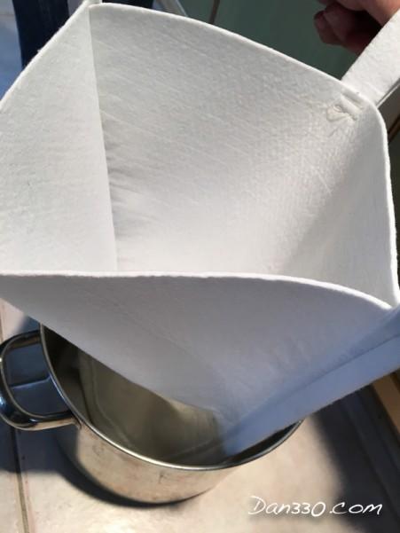 syrup filter bag -21