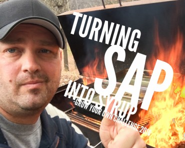 turning sap into syrup
