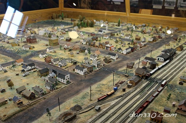hinkley fire museum town model