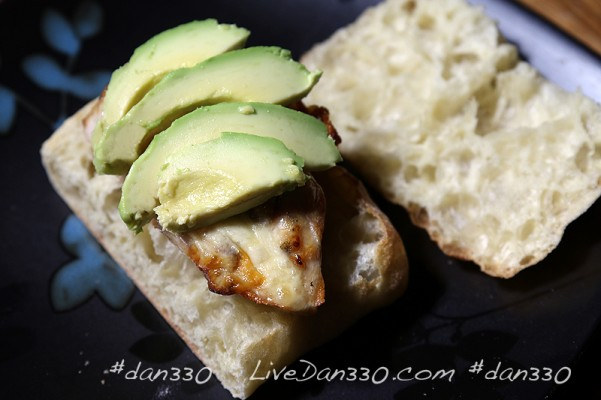avocado grilled chicken sandwich