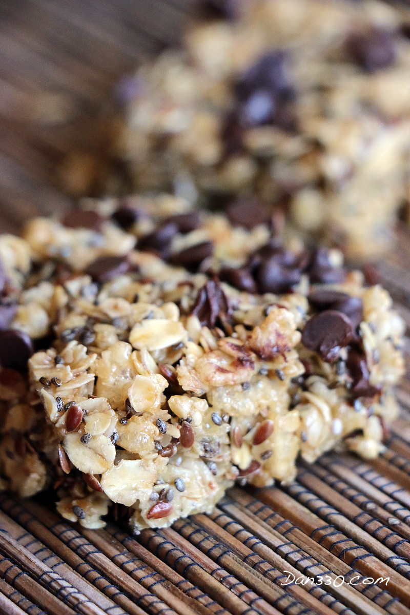 On the go breakfast bars