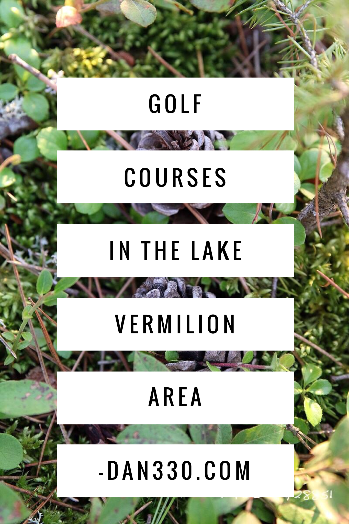 golf courses in the lake vermilion area