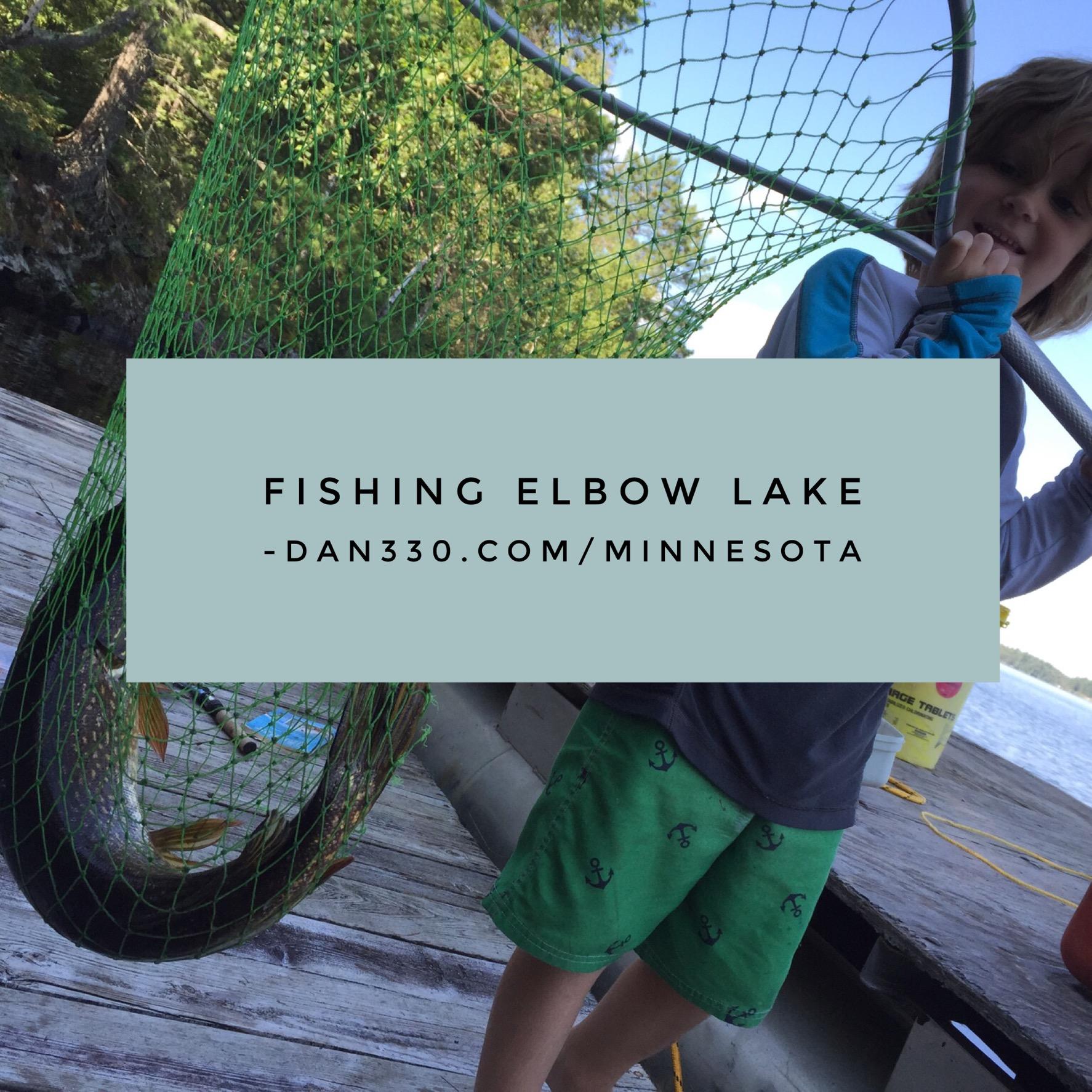 fishing elbow lake