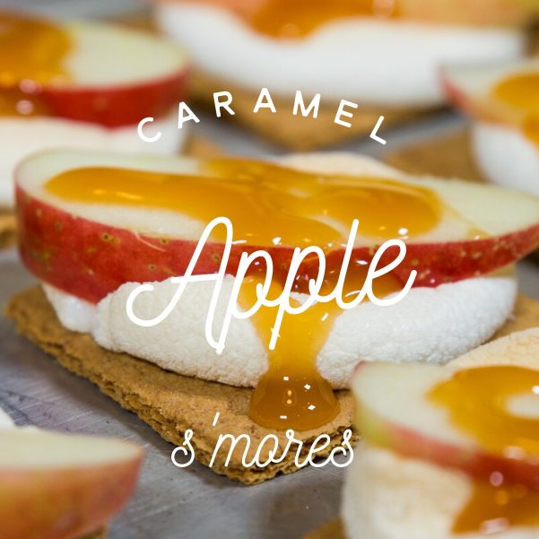 caramel apple smore