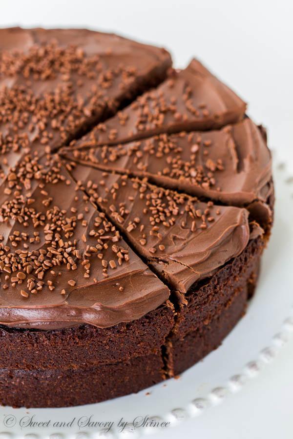 Ina's Chocolate Cake w-Mocha Frosting-1