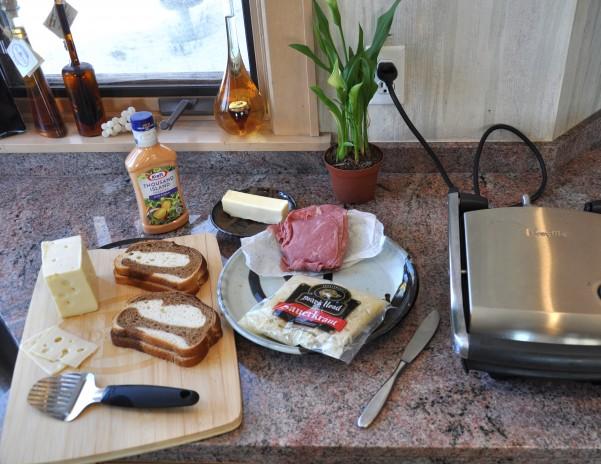 Corned Beef Panini Ingredients