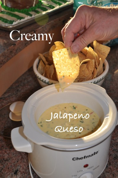 Creamy Jalapeno Queso