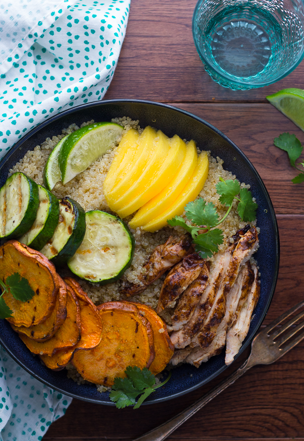 Jamaican-Jerk-Chicken-Bowls-with-Grilled-Veggies-and-Mango-3