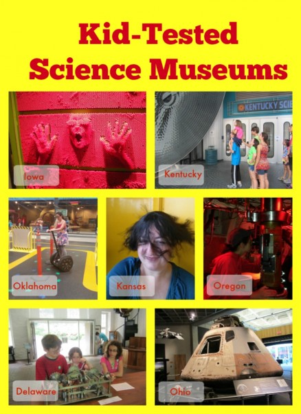 Kid-tested Science Museums