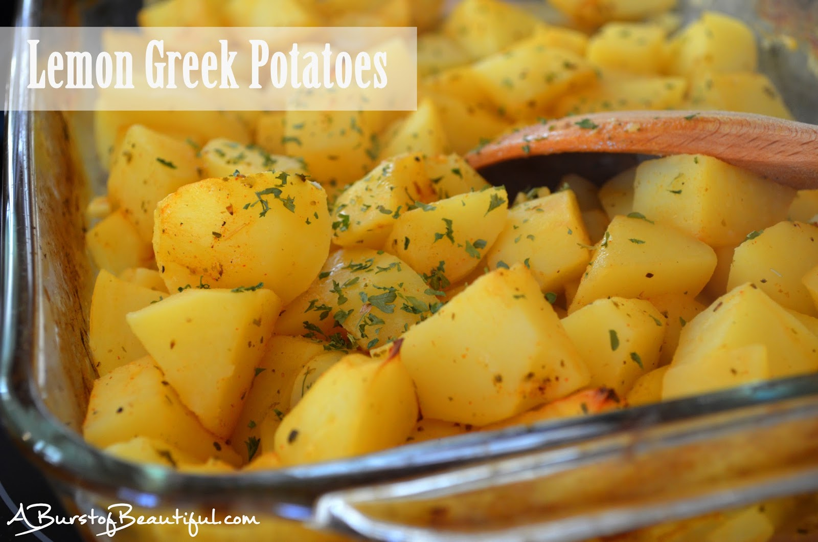 Lemon Greek Potatoes A Burst of Beautiful