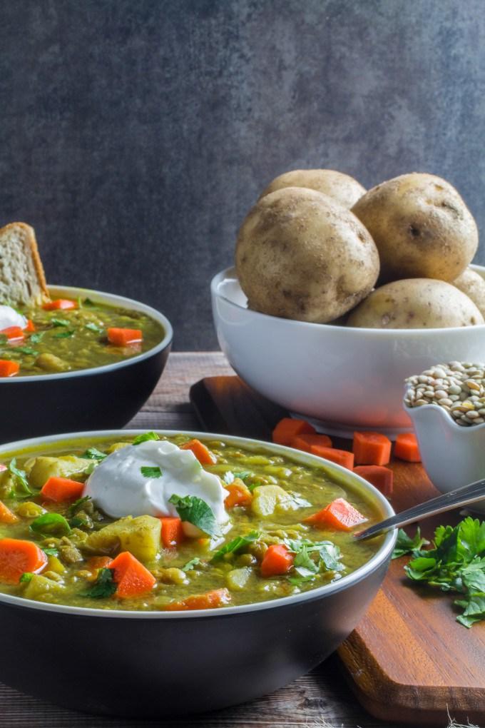 Lentil and Vegetable Soup