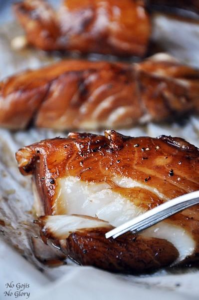 Baked Honey Marinated Cod Dan330