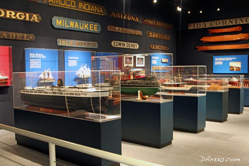 Model Ships on Display