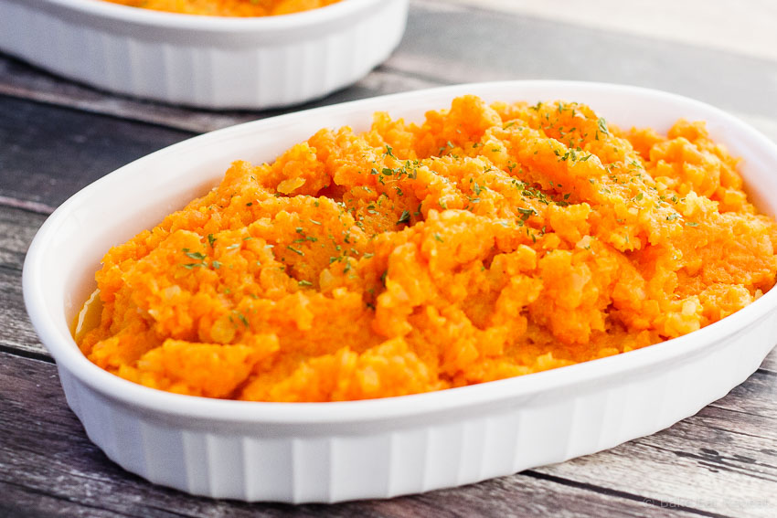 Mashed Carrots and Turnips