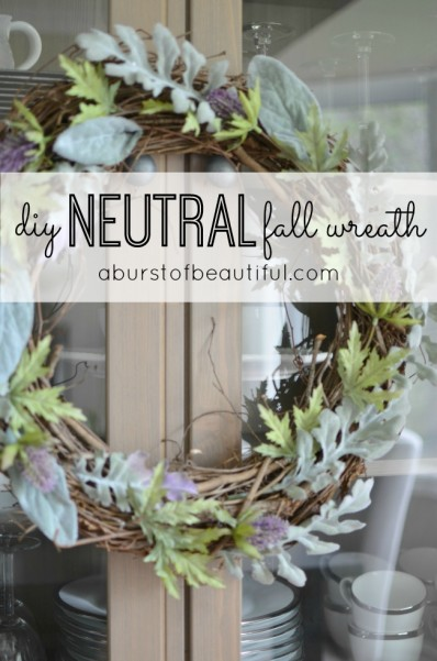 Neutral Fall Wreath_Pinterest Graphic