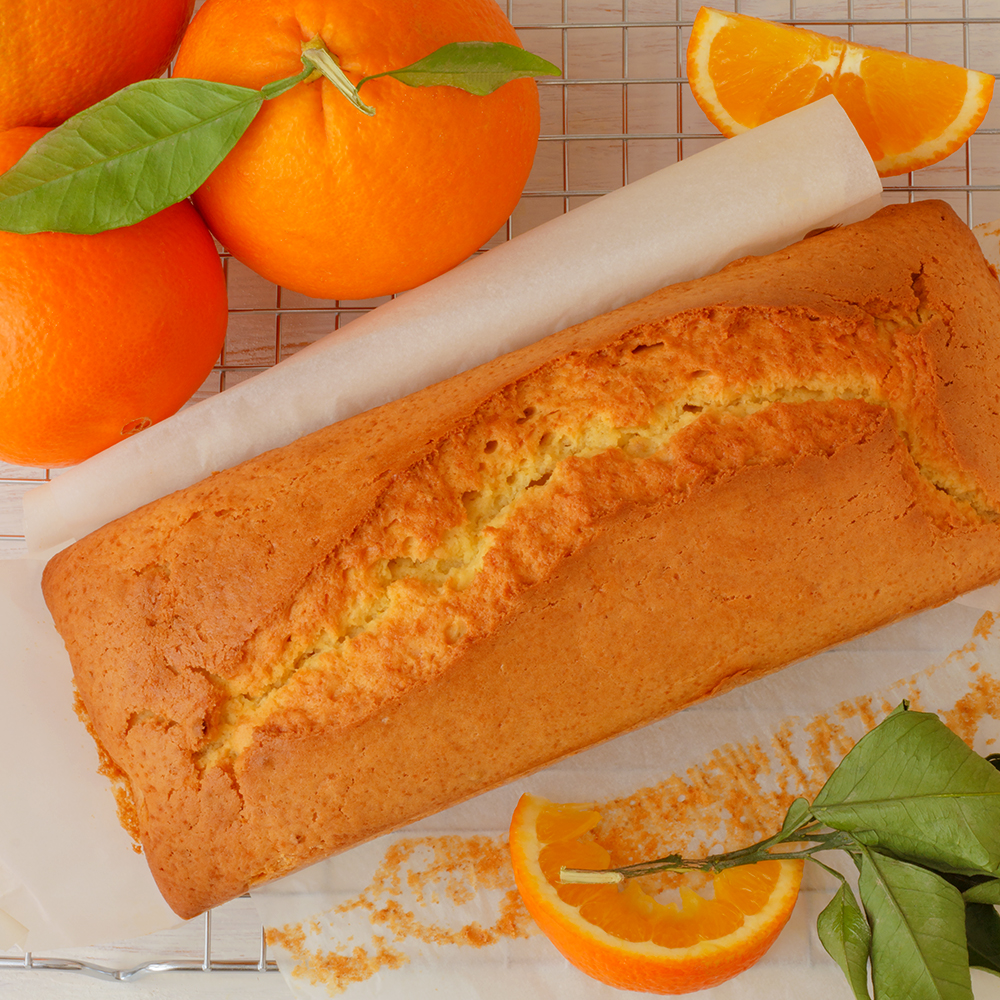Orange Loaf Cake TS