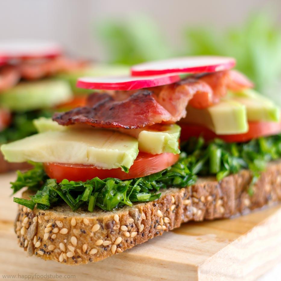 Parsley-Sandwich-Toast-Delight