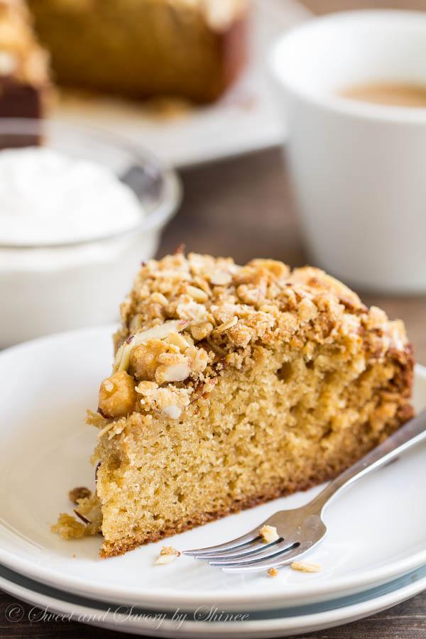 Pear Coffee Cake-1