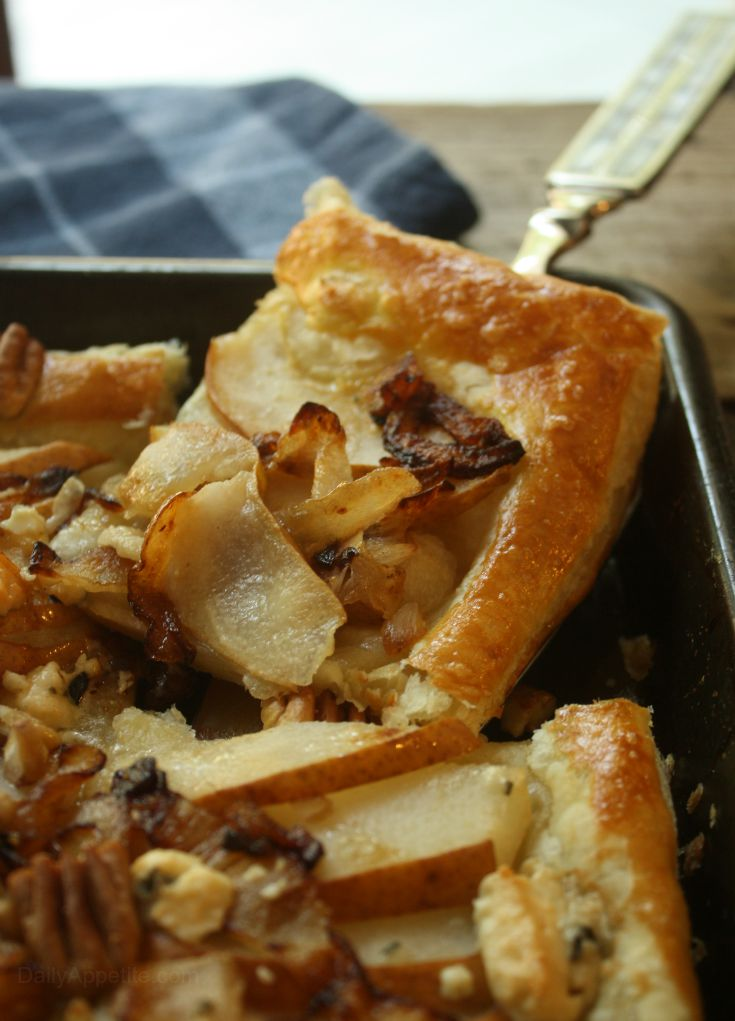 ... caramelized pear and gorgonzola quiche 18 pear gorgonzola tart with