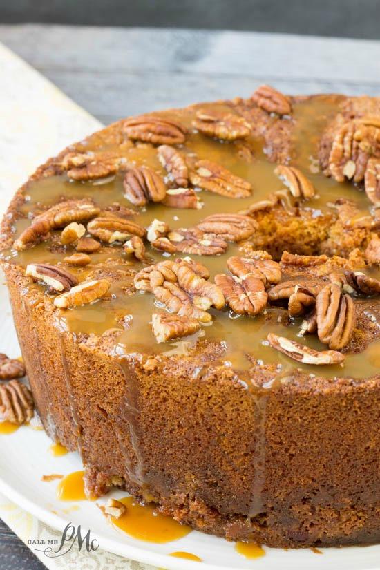 Pecan Pie Pound Cake 1w