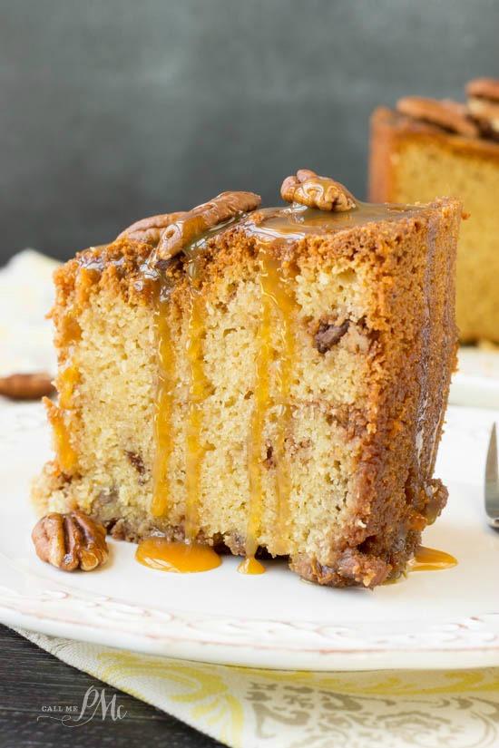 Pecan Pie Pound Cake 4w