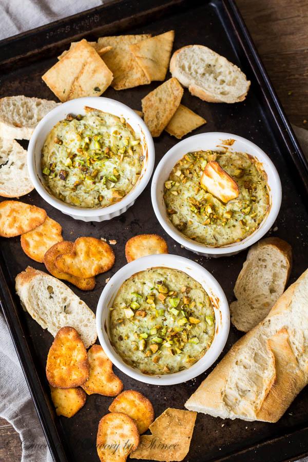 Pesto Artichoke Dip