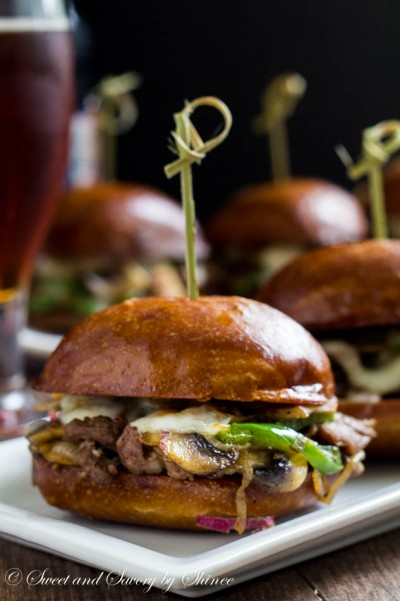 Philly Cheese Steak Sliders-8