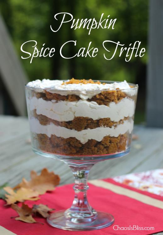 Pampered Chef Pumpkin Spice Cake