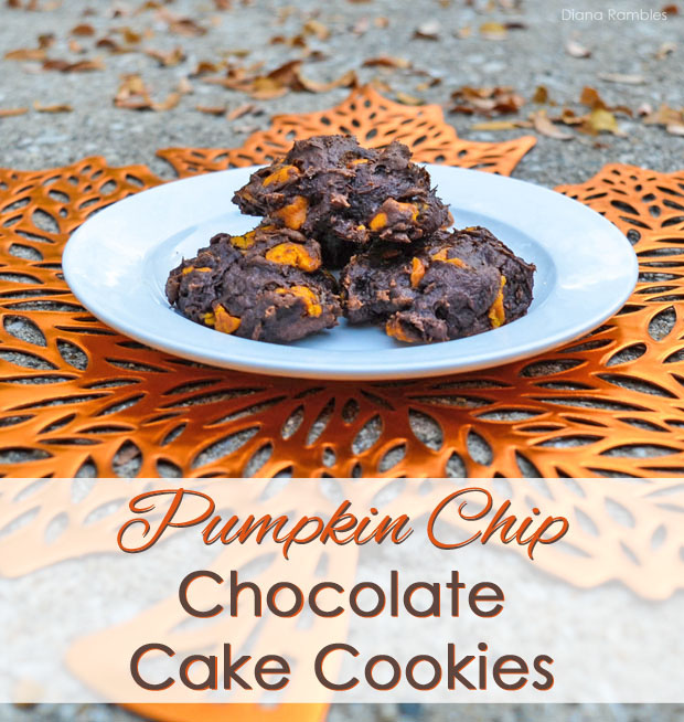 This Pumpkin Spice Chip Chocolate Cake Cookies recipe is a guest ...
