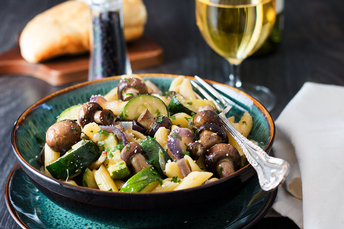 Quick-Easy-Roasted-Vegetable-Pasta