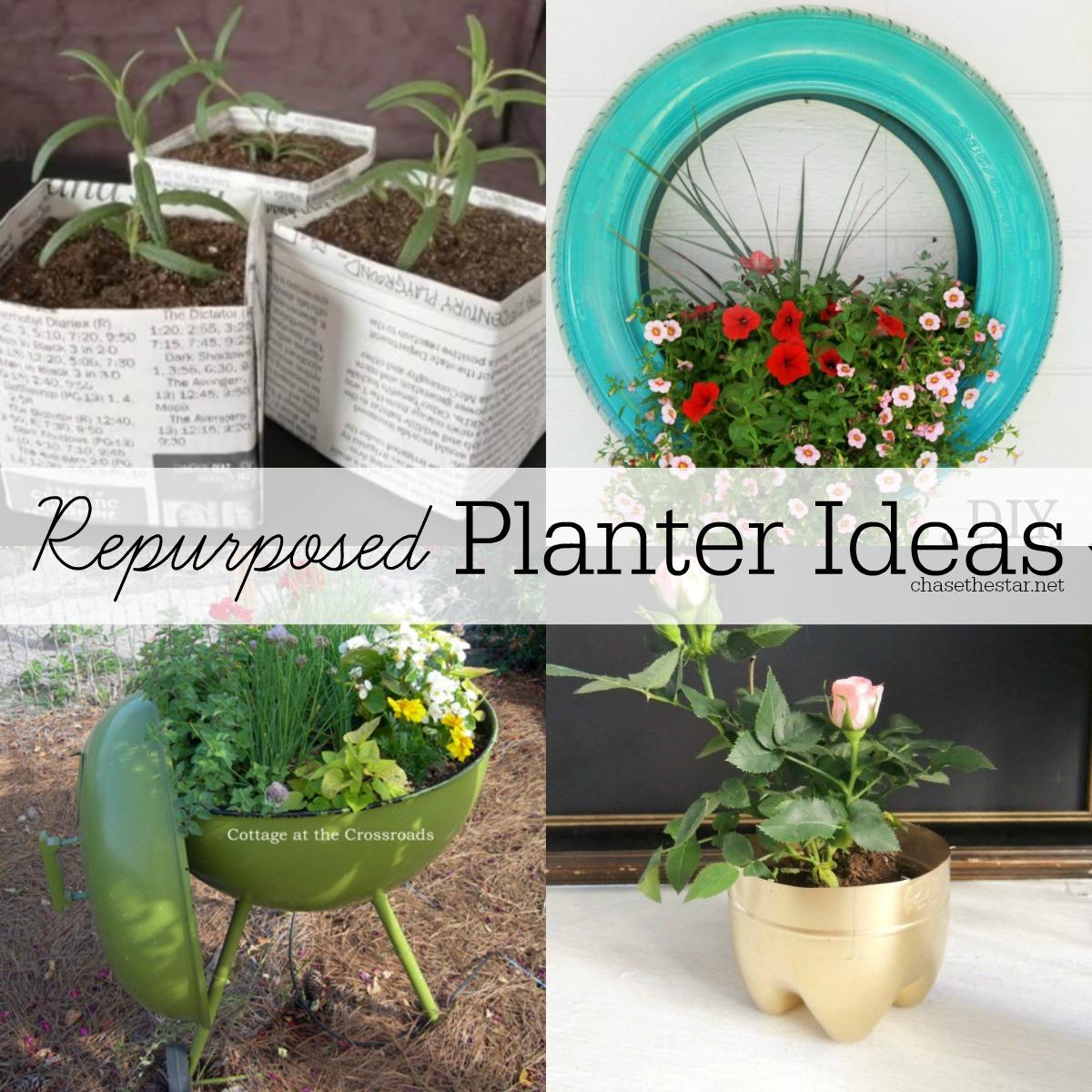 Repurposed Planter Ideas – Dan330