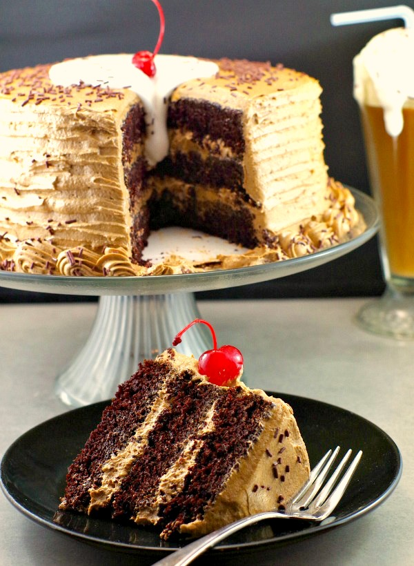 Root Beer Float Cake The Ultimate Happy Birthday Dan330