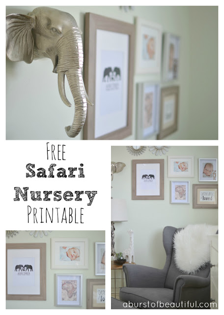 Safari Nursery Printable_Pinterest