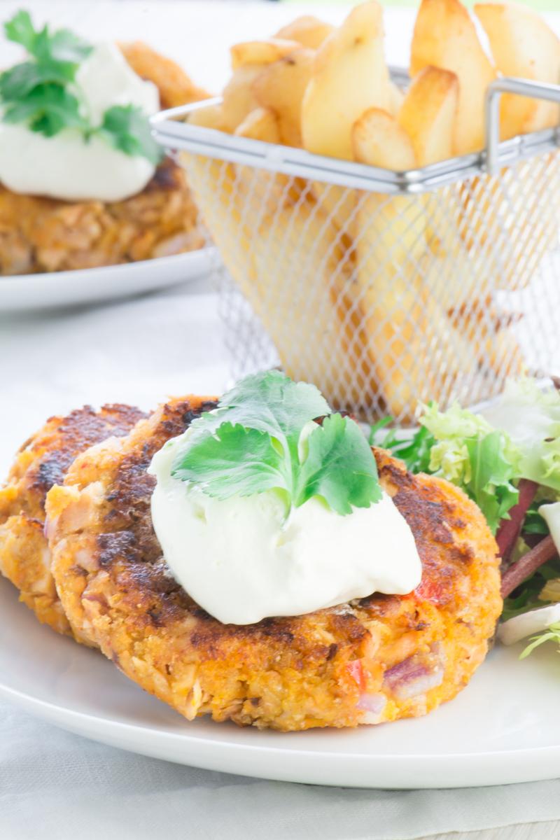 Salmon and Sweet Potato Fishcakes 6