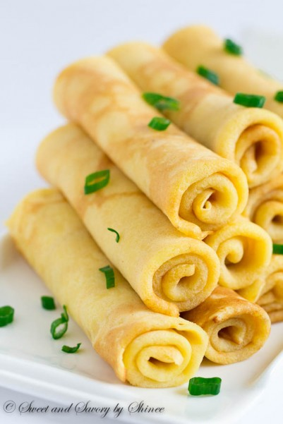 Savory Cheese Crepes-1
