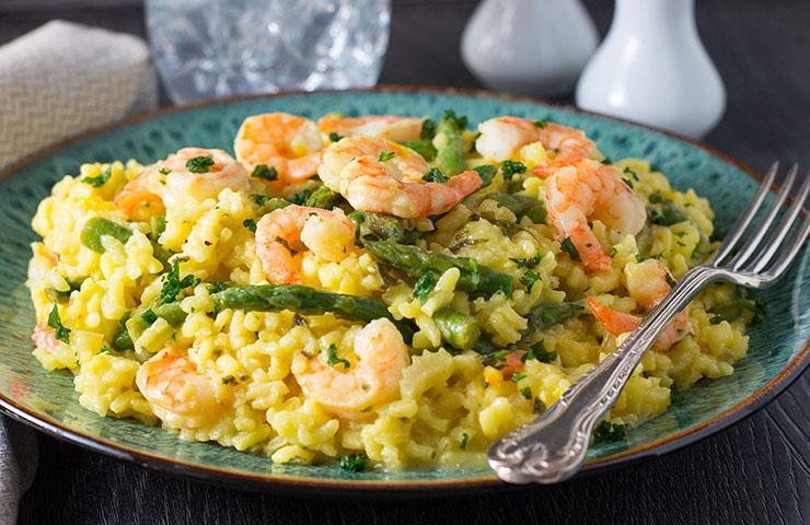 Shrimp-and-Asparagus-Saffron-Risotto-feature