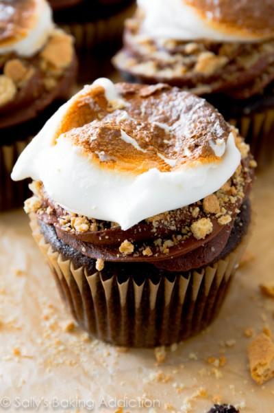 Smore-Cupcakes