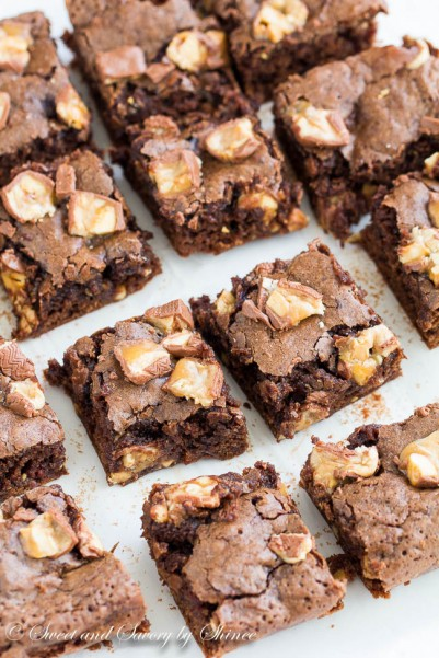 Snickers Brownies-2