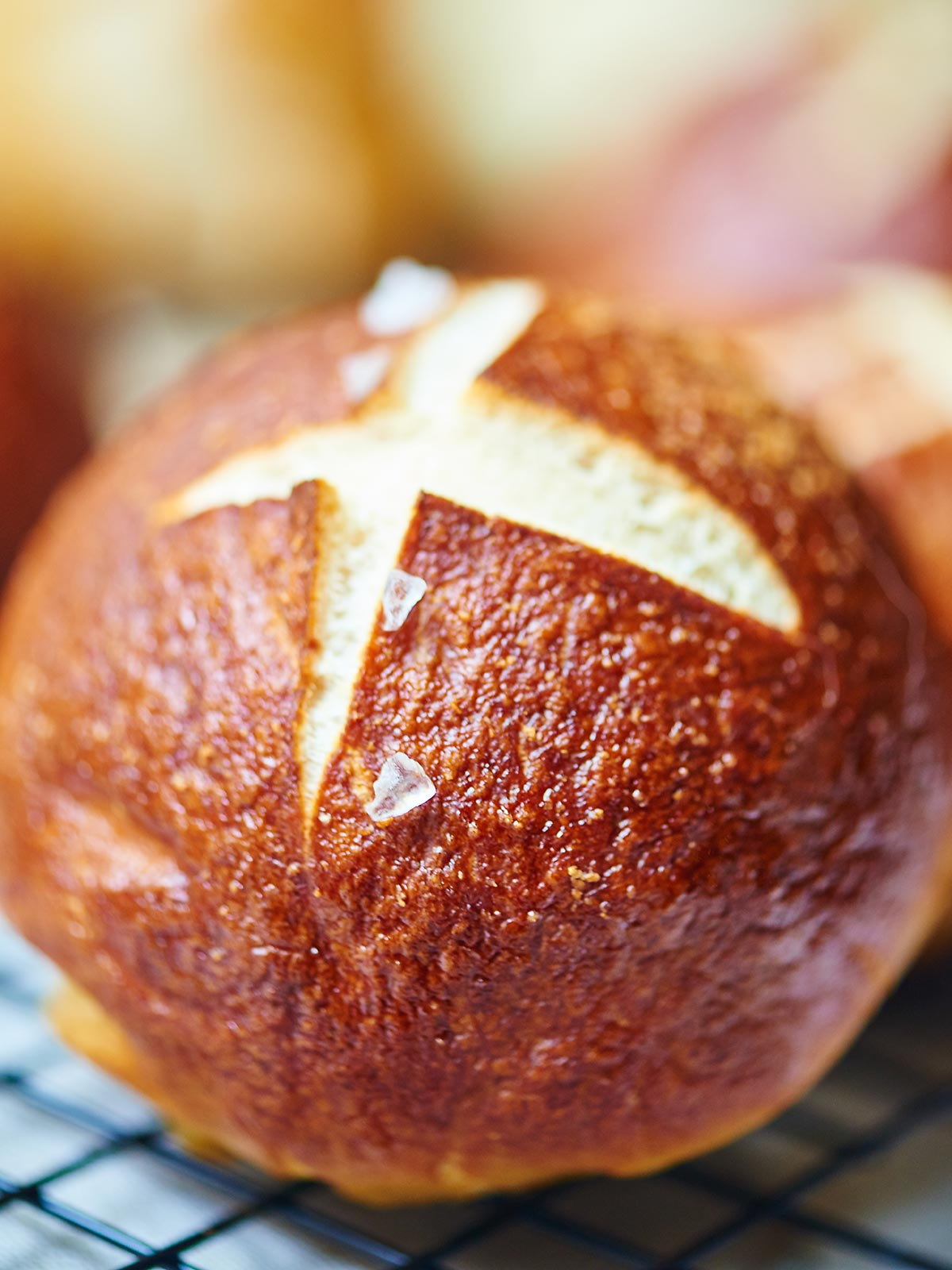 Soft Pretzel Rolls – chewy, buttery perfection on their own, but ...