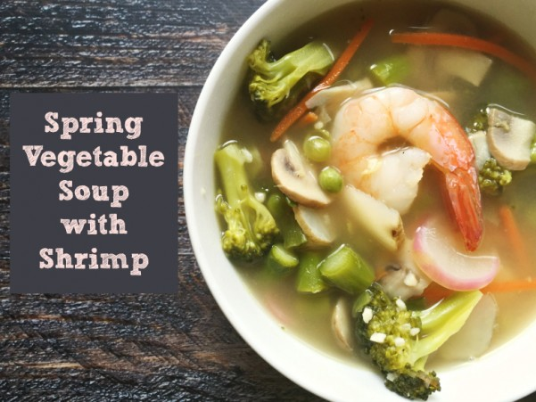 Spring-Vegetable-Soup-With-Shrimp