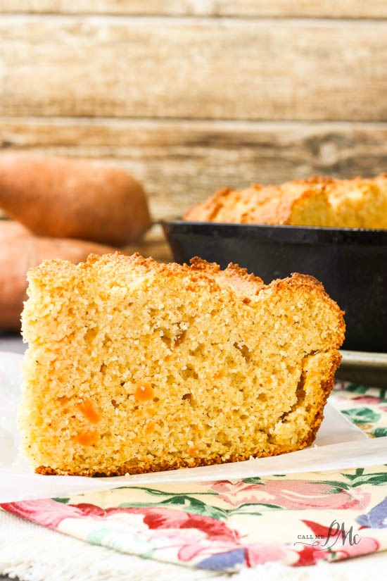 Sweet Potato Sour Cream Cornbread Recipe 3w