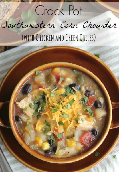 Crock Pot Southwestern Corn Chowder