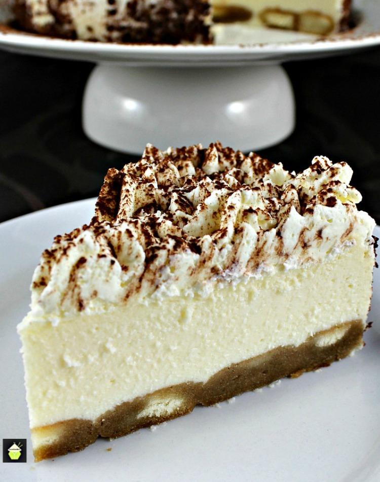 Tiramisu Ricotta Cheesecake