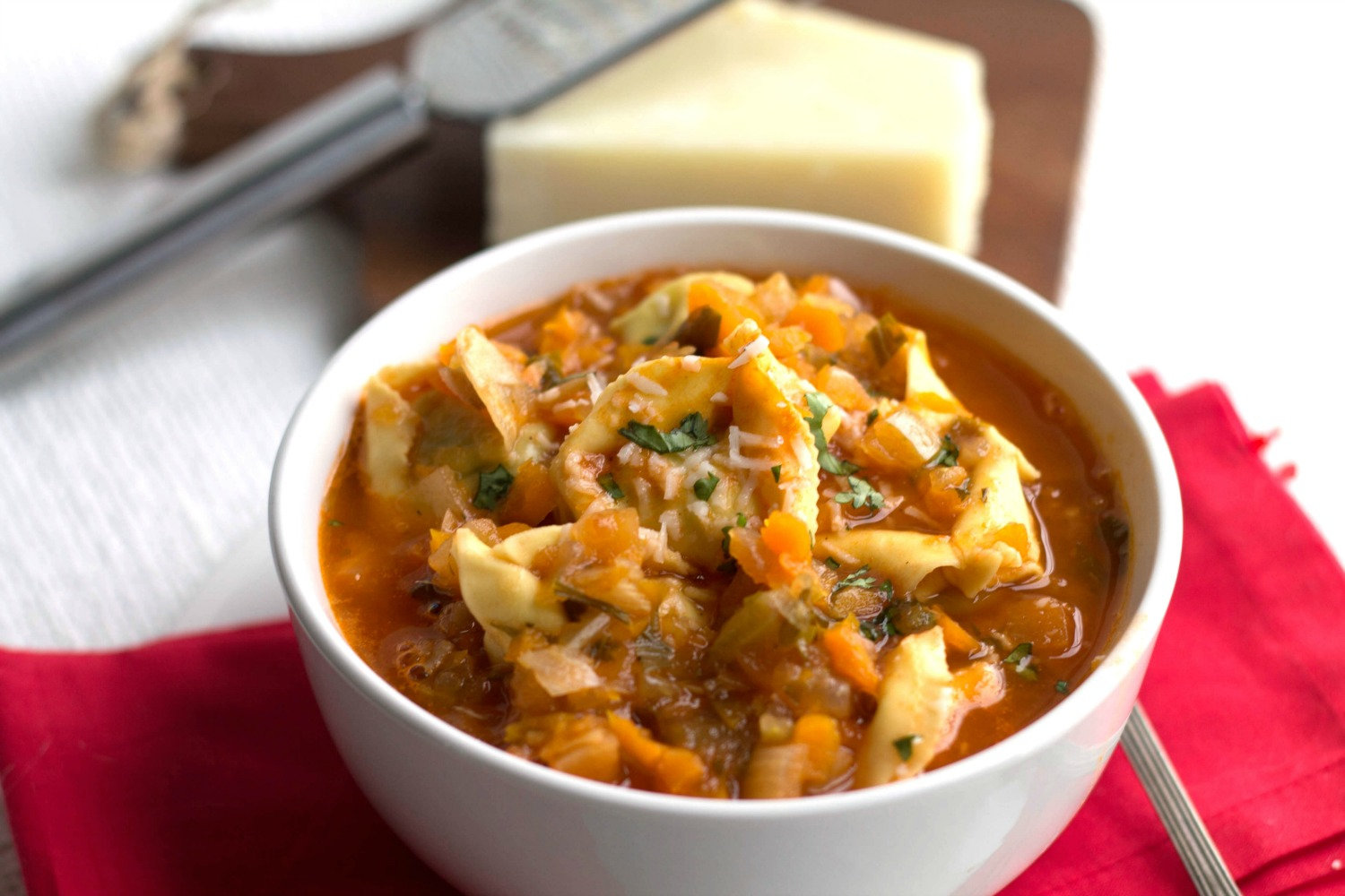 Tortellini Vegetable Soup