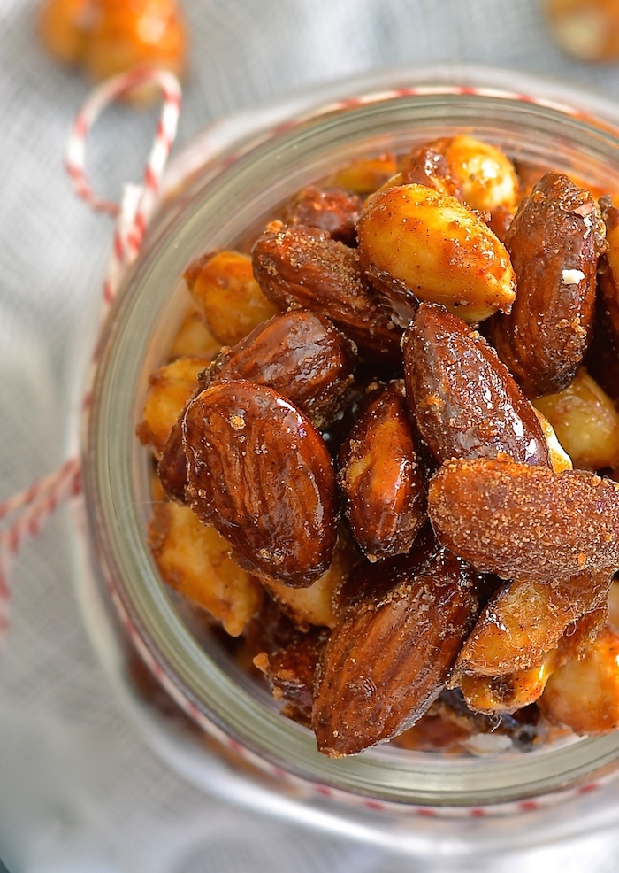 Sweet & Spicy Candied Nuts