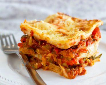 Vegetable-Lasagne-Slice