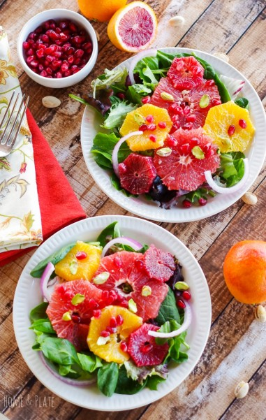 Winter Sweet Citrus Salad With Pomegranate Amp Pistachios
