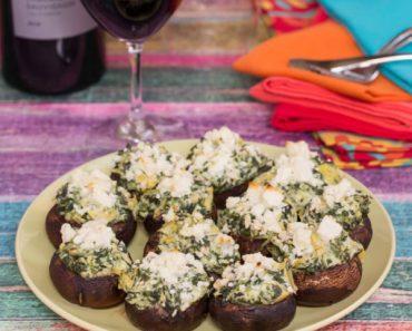 artichoke-spinach-dip-stuffed-mushrooms-2-600x600