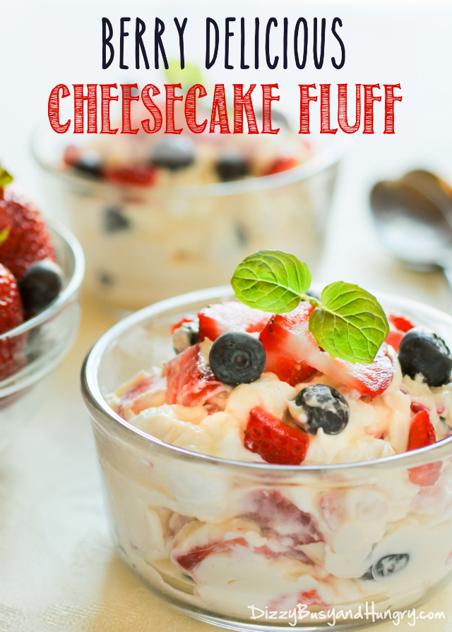 berry delicious cheesecake fluff-title